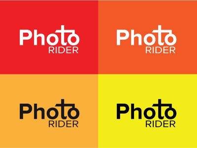 Photo Rider - Photography Logo design illustration logotype logo inspiration branding modern logo logofolio logo design riding logo logo photographer photography logo photo rider
