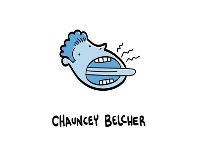 Chauncey Belcher character design graphic design hand drawn illustrator illustration