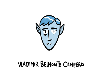 Vladimir Belmonte Campero character design graphic design hand drawn illustrator illustration