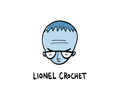 Lionel Crochet character design graphic design hand drawn illustrator illustration