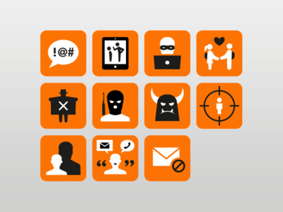 Risk Alert Icons graphic design illustrator illustration icons