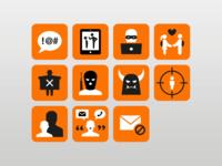 Risk Alert Icons