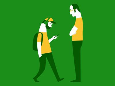 Textwalkers character design design textwalking fenwickstudio character illustrator illustration