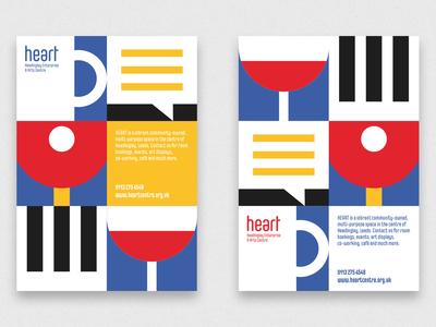 Heart Centre Brand Identity print design design illustration graphic design brand identity