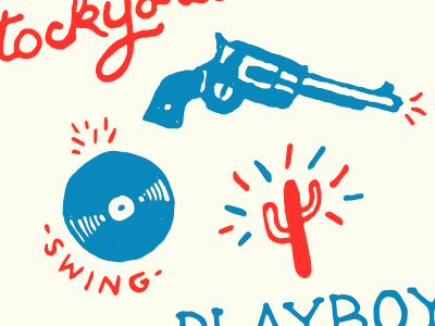 'pppphew' record vinyl cactus pistol