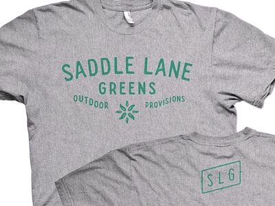 Greens greens lane saddle outdoor