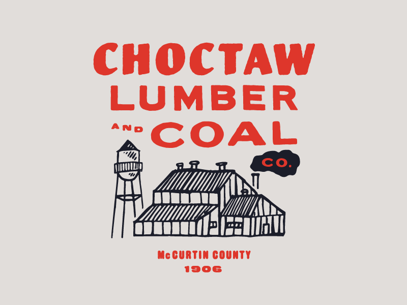Choctaw Lumber and Coal Co. illo coal lumber choctaw