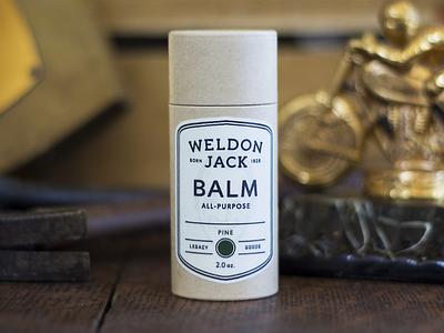 Weldon Jack Balm balm product grooming