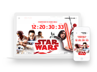 Star Wars Page Takeover