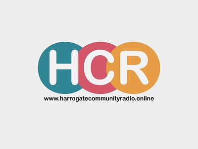 Harrogate Community Radio Logo logo design branding