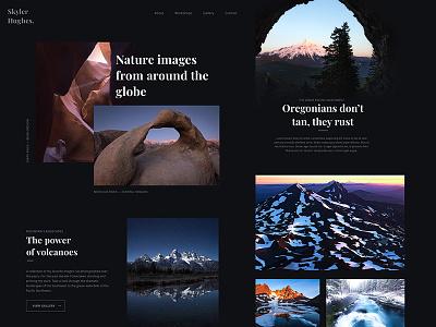 Photo Portfolio Live design site live photography landscape grid css portfolio photo