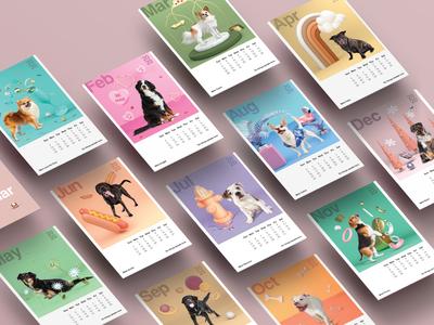 Dog Calendar 2020