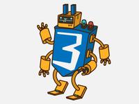 CSS3 Robot
