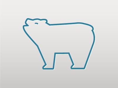 AlarmBear logo bear vector logo
