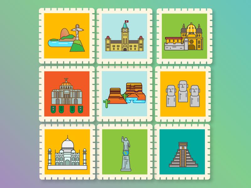 Cities city cities vectors travel adobe illustrator