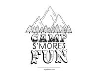 Camp Smores Fun