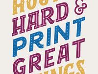 Print Great Things