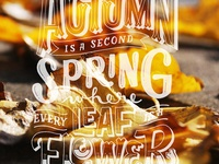 Autumn Quote for Over App