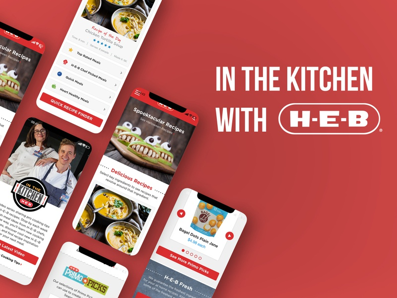 Recipe Page Redesign visual design casestudy research ux ui