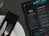 Noche menu
