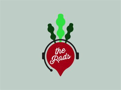 THE RADS texture vector branding logo illustration