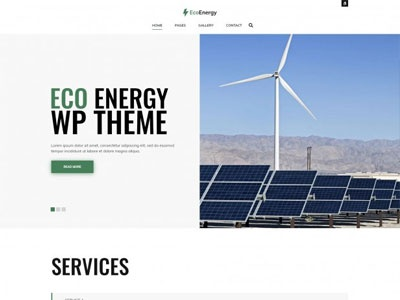 Eco energy WordPress theme with accessibility compliance wcag 2.1 wordpress design wordpress theme wordpress themes wcag ada web design web accessibility wordpress section508