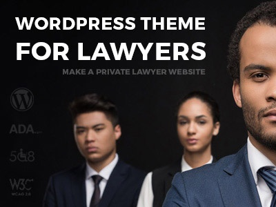 WCAG & 508 & ADA compliant WordPress Theme lawyer wordpress web 508 ada wcag