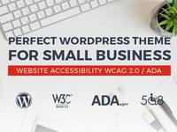 Company WordPress theme with WCAG 2.0 & ADA