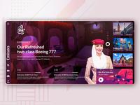 Emirates Airline Concept