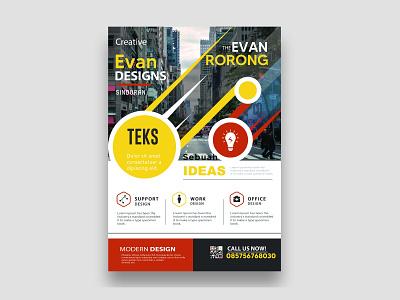 Project branding illustration typography design