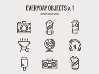 Everyday Icon set - WIP