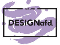 DESIGNafd. new logo, color variation #2