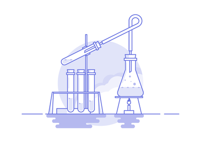 Weekly challenge: #6 Chemistry 7daystocreate 7 days to create logo shadows illustration icon flat colors challenge chemistry
