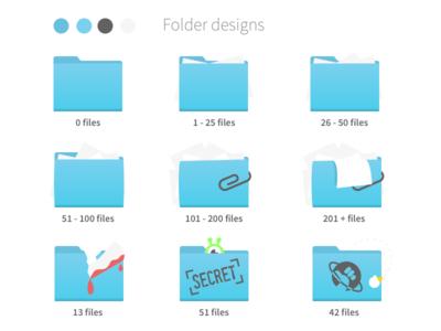 Folder design concept