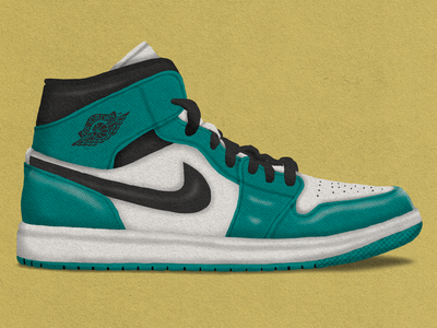 Jordan 1 shoes sneaker jordan nike illustration