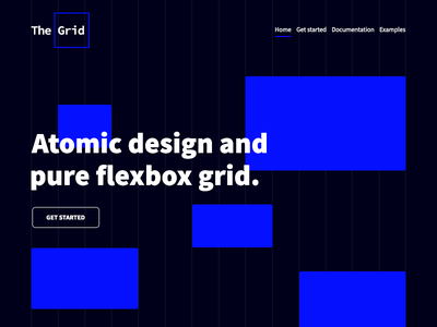 The Grid user interface documentation flexbox css grid the grid