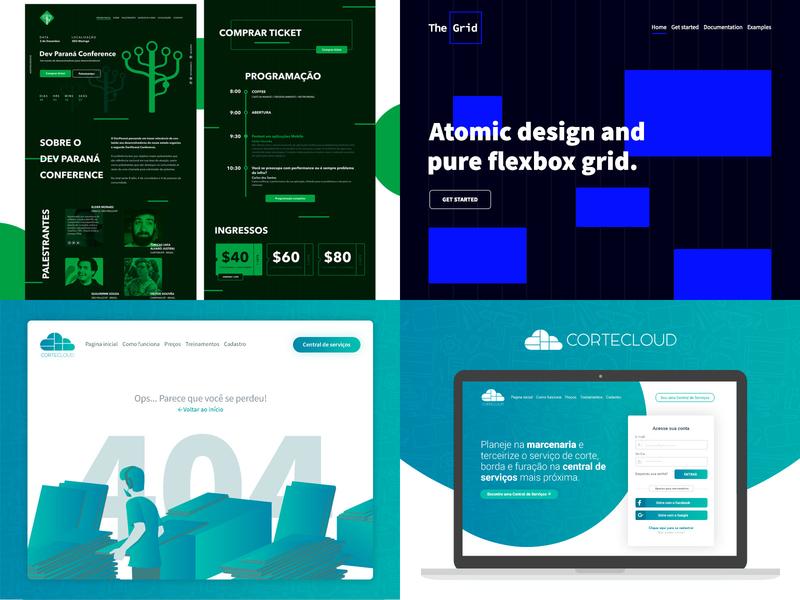 Top 4 of 2018 design illustration ux ui user interface
