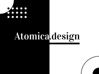 Atomica Design branding design branding brand agency design user interface