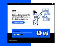 Design Tokens Generator generator tokens illustration ux ui user experience design user interface
