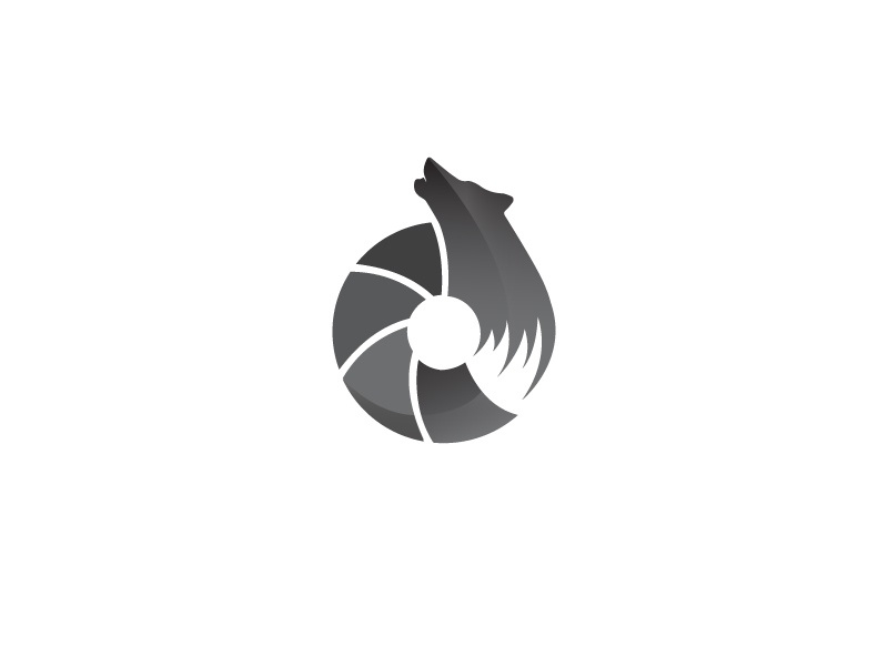 Ojatro Visuals photography logo logodesigns logos brand identity graphic design branding rebranding wolf animals minimal logo design logo