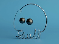 1 Line 2 Dots: Skull