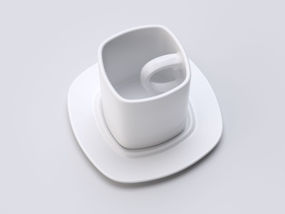 Irrational Cup design illustration light cgillustration 3dart c4d cgi cg 3ddesign 3dillustration 3d