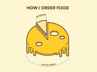 How I order food