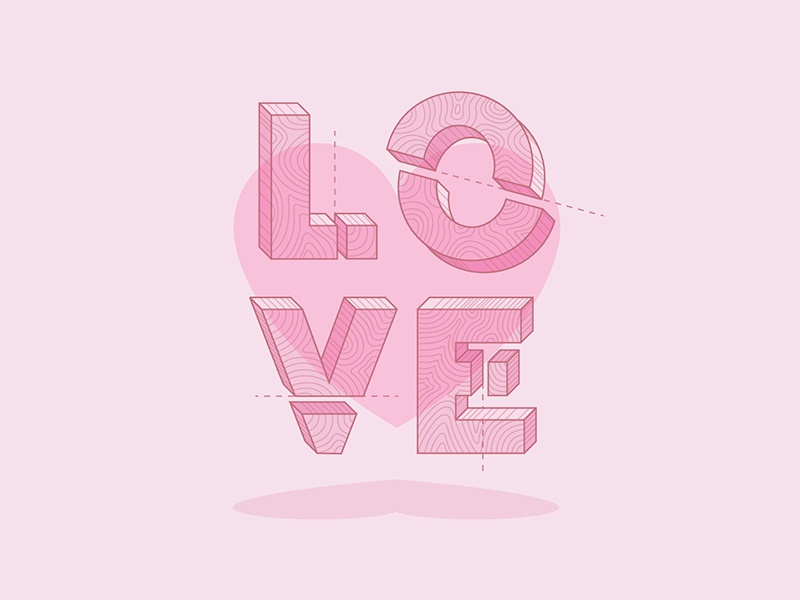 It's complicated. heart illustration design isometric love