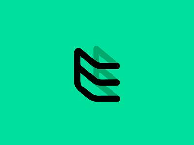 EE ee e letter simple logodesign modern logo
