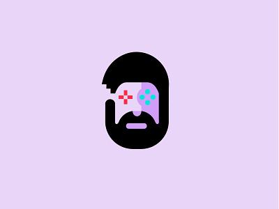 PJ concept / games entertainment videogame logodesign branding bold geometric modern logo