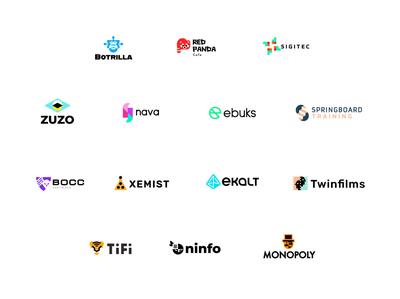 logofolio 2020 games logo security animals branding letter technology bold geometric logodesign modern logo