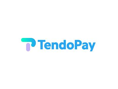 TendoPay 2 payments finance design bold letter geometric logodesign modern logo