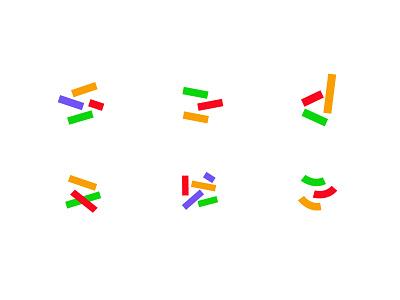 Dabble concepts 2 finance design geometric logodesign modern logo