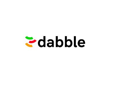 Dabble finance investment money design logodesign modern logo